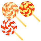 Lollipops background Stock Image