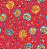 Lollipops background. Sugarplums.Differen t fruit drops. Sugar candies Stock Image