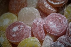 Lollipops in can Stock Photography
