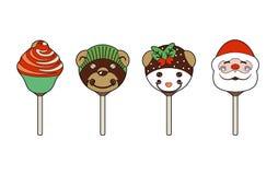 Lollipops for children. Vector illustration of candy for children Stock Illustration