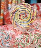 Lollipops coloreados Fotografía de archivo libre de regalías