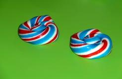 Lollipops coloreados multi Fotos de archivo libres de regalías