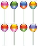 Lollipops coloridos Imagen de archivo