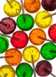 Lollipops coloridos fotografía de archivo libre de regalías