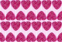 Lollipops coloridos doces Foto de Stock Royalty Free