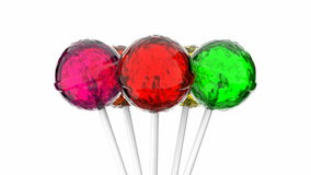 Lollipops stock video