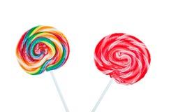 Lollipops del caramelo Imagen de archivo libre de regalías