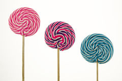 Lollipops di Whirly Fotografia Stock