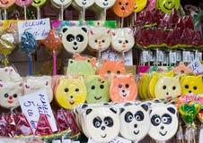 Lollipops divertenti fotografia stock libera da diritti