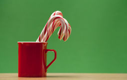 Lollipops in a mug Royalty Free Stock Photography