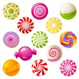 Lollipops vector illustration