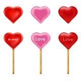 Lollipops. Vector Royalty Free Stock Photos