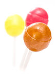 Lollipops in vertical format Royalty Free Stock Photos