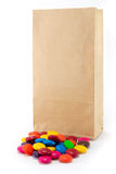 Lolly bag Royalty Free Stock Images
