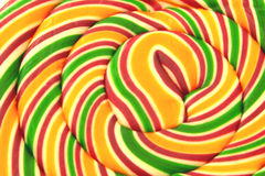 Lolly pop. Close up of a big lolly pop Royalty Free Stock Photos