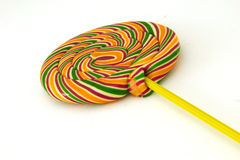 Lolly pop. A lolly pop on a white background Stock Images