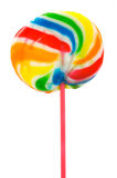 Lolly Pops. Isolated against a white background Stock Photos