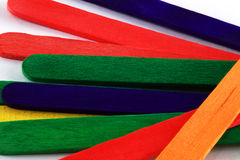 Lolly sticks Royalty Free Stock Photo