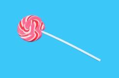 lollypop粉红色 免版税库存图片