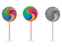 lollypop διάνυσμα Στοκ Φωτογραφία