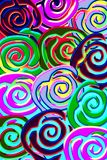 Lollypop pattern Stock Images