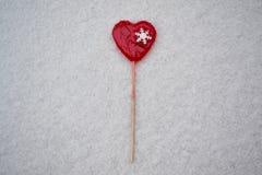 Lollypop rouge Images libres de droits
