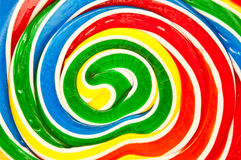 Lollypop, twirly abstract background Royalty Free Stock Images