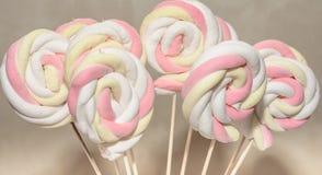 Lollypops Colorfull Стоковая Фотография