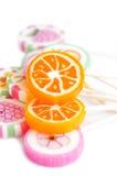Lollypops coloridos Imagens de Stock