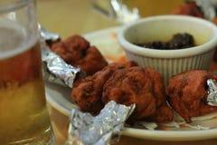 Lollypops e cerveja da galinha Foto de Stock