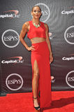 Lolo Jones. LOS ANGELES, CA - JULY 16, 2014: Soccer player Lolo Jones at the 2014 ESPY Awards at the Nokia Theatre LA Live Stock Images