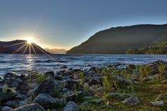 Lolog lake. Argentina Royalty Free Stock Images