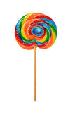 Lolypop in various colors Royalty Free Stock Image