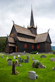 Lom Church, Norway Royalty Free Stock Images