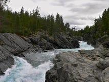 Lom-Otta river Stock Image