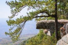 Lom Sak cliff at Phu Kra Dueng in Thailand Stock Photo