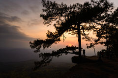Lom Sak cliff at Phu Kra Dueng in Thailand Stock Photography