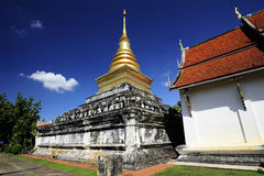 Lom Wat Chang, Thailand Lizenzfreies Stockfoto