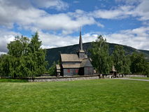 Lom-wooden church Royalty Free Stock Photos