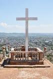 Loma de la Cruz在奥尔金,古巴 库存图片
