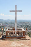 Loma de la Cruz dans Holguin, Cuba Images stock