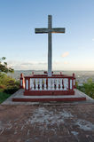 Loma de la Cruz oder Hügel des Kreuzes in Holguin, Kuba lizenzfreie stockfotos