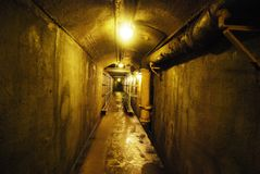 Loma van Casa Ondergrondse Tunnel Stock Afbeelding