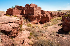 Lomaki Pueblo Ruins Royalty Free Stock Photo