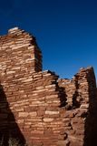 Wupatki National Monument near Flagstaff, Arizona, preserves and protects this ancient Anasazi ruin, called Lomaki Pueblo Royalty Free Stock Photo