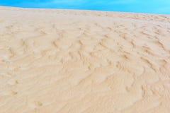 Lomas de Arena Regional Park, Santa Cruz, Bolivia. Sand dune of Lomas de Arena Regional Park, Santa Cruz, Bolivia stock image