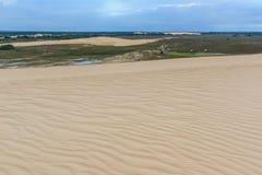 Lomas de Arena Regional Park, Santa Cruz, Bolivia. Sand dune of Lomas de Arena Regional Park, Santa Cruz, Bolivia royalty free stock photography