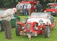 Lomax kit car at Fortrose. Royalty Free Stock Photos