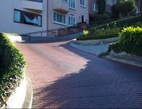 Lombard Avenida-San Francisco Imagem de Stock