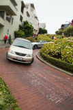 Lombard Crooked Street Royalty Free Stock Photo